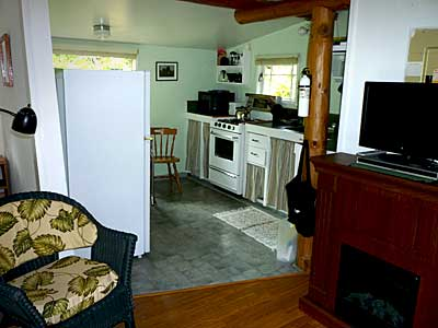 Cabin for rent on hornby island b c Propane stove left on overnight
